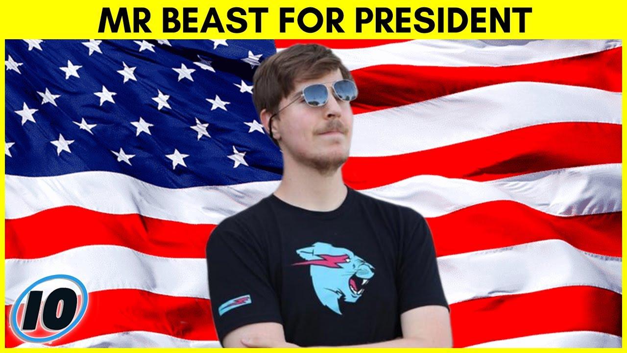Mr Beast Running For President