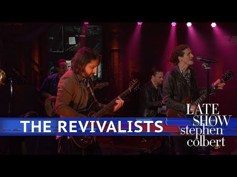 Amber Miller - WATCH: The Revivalists' performance of All My Friends on The Late Show