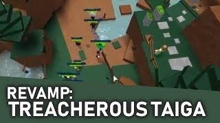 Treacherous Taiga Revamp | Roblox Studio
