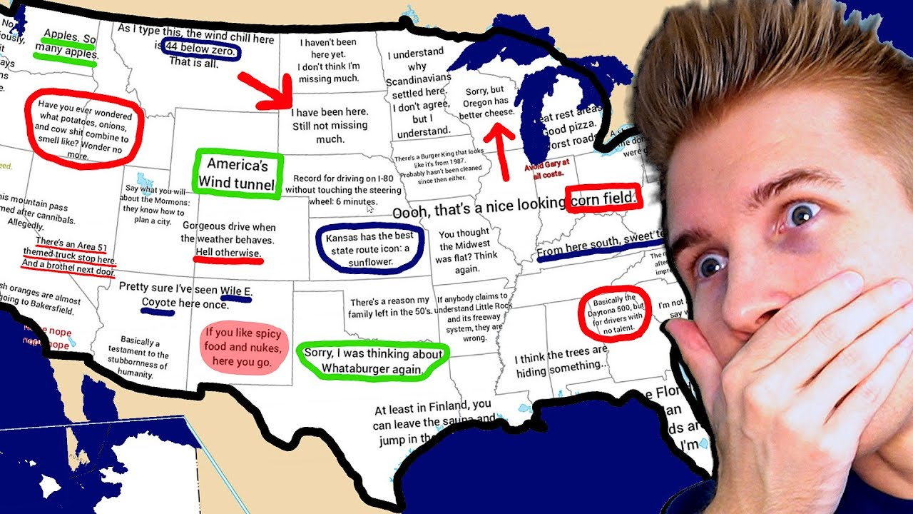 Download Truck Driver Explains the United States of America...