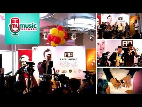 Launching Album Raffi Ahmad - Kamulah Takdirku Di KFC