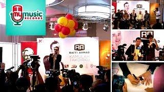 Launching Album Raffi Ahmad Kamulah Takdirku di KFC