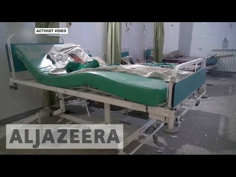 UN: Syria's healthcare system nearly destroyed