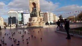 Достопримечательности Стамбула площадь Таксим/ Attractions Istanbul Taksim Square(Площадь Таксим в Стамбуле находится в самом центре города, в районе Бейоглу. Это место массовых гуляний..., 2016-03-27T07:33:23.000Z)