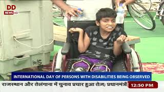 International day of persons with disabilities being observed