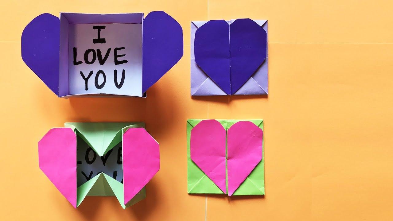 Поздравления, открытка на 8 марта из бумаги оригами