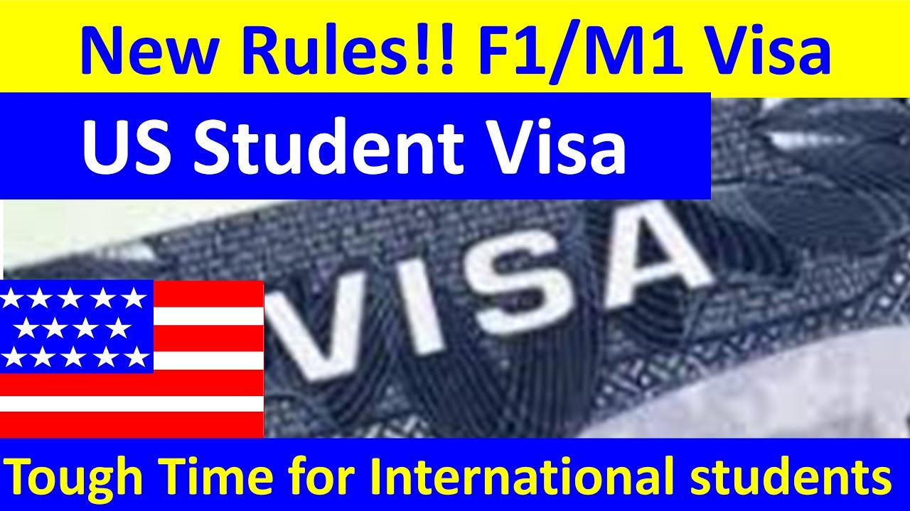 New Rules for F1/M1 Visa. SEVP Updates F1/M1 Visa rules, USA student visa, student visa