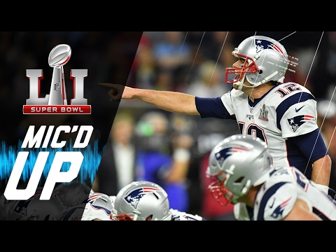 Super Bowl LI: Patriots vs. Falcons Mic