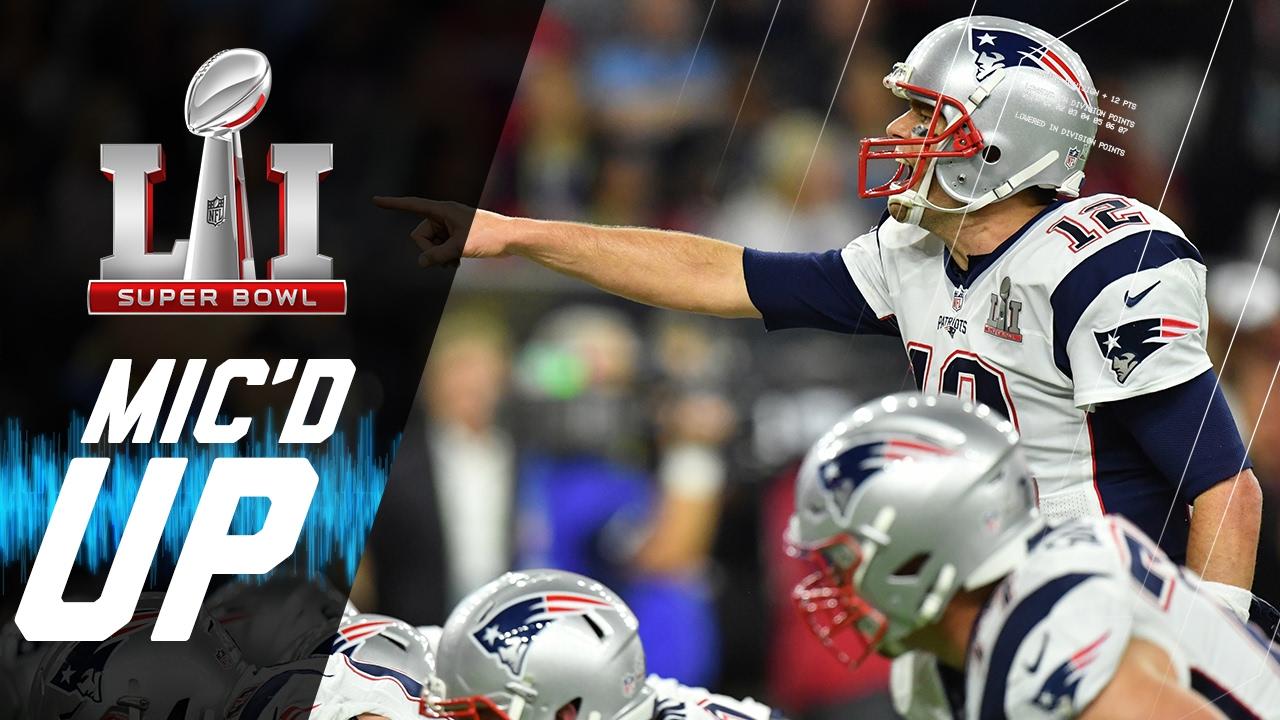 Super Bowl LI: Patriots vs. Falcons Mic'd Up | NFL Films | Sound ...