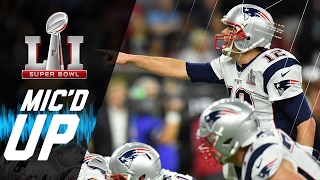 super bowl li patriots vs falcons micd up nfl films sound fx
