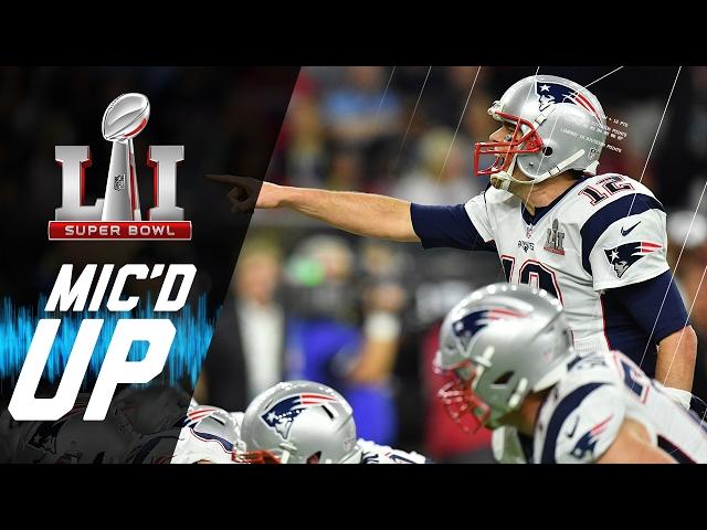 Super Bowl LI: Patriots vs. Falcons Mic'd Up | NFL Films | Sound FX