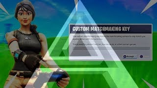 Fortnite Custom Matchmaking / Clan Tryouts (Ikon Skin) (Live) (Ps4/XBOX/PC) #AvolRC