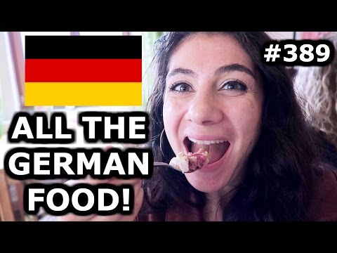 ALL THE GERMAN FOOD IN BADEN-WURRTEMBERG - TRAVEL VLOG 389 GERMANY | ENTERPRISEME TV