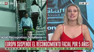 Europa suspenderá el reconocimiento facial en espacios públicos por 5 años