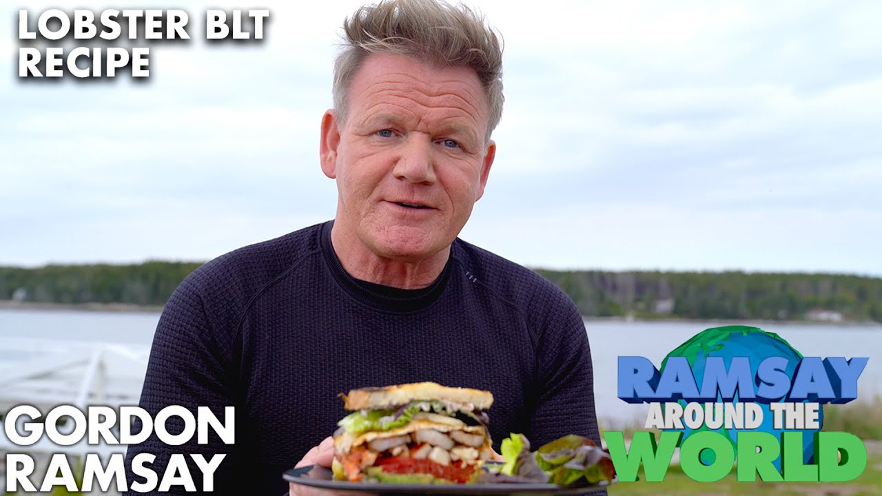 Download Gordon Ramsay Cooks the Ultimate Lobster BLT in Maine | Ramsay Around the World