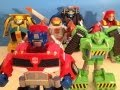 TRANSFORMERS RESCUE BOTS FULL COLLECTION - TOY REVIEW