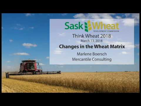 Changes in the Wheat Matrix - Think Wheat 2018