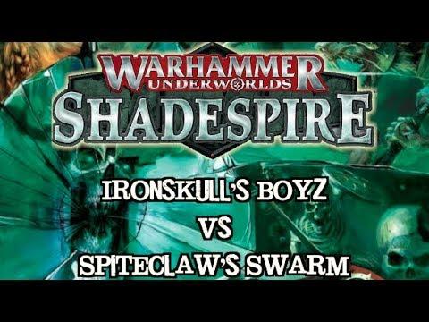 Warhammer Underworlds: Shadespire EP 07 - Spiteclaw's Swarm vs. Ironskull's Boys