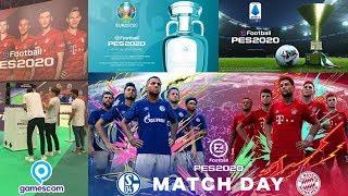 LOS GRANDES ANUNCIOS DE PES 2020 EN LA GAMESCOM   Uefa Euro, Matchday y más detalles!