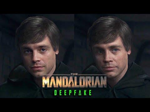 Sebastian Stan is Luke Skywalker in The Mandalorian [Deepfake]