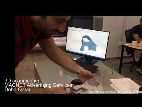3D scanning Doha Qatar