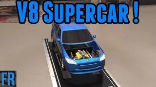 Automation Challenge - FailRace Industries V8 Supercar !