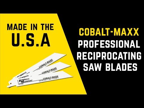 Cobalt-Maxx™ All Purpose Reciprocating Saw Blade