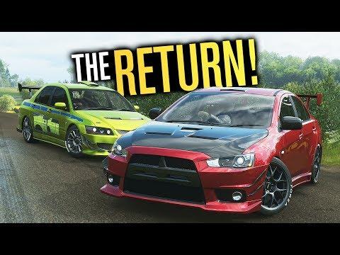 The RETURN of MITSUBISHI in Forza Horizon 4?! thumbnail