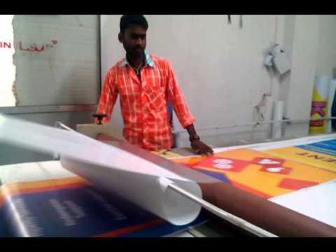 How to do lamination in big photos/ papers/ poster