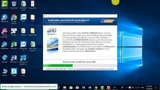 Hướng dẫn cài đặt phần mềm Khai hải quan điện tử Ecus5 VNACCS