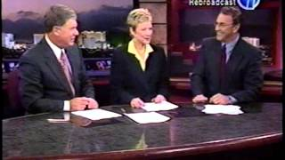 10/2/2002 Gary Waddell & Paula Francis, KLAS-TV Eyewitness News(cast) Oct. 2, 2002