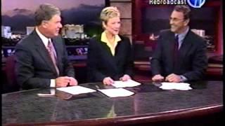 10/2/2002 Gary Waddell & Paula Francis, KLAS-TV Eyewitness News(cast) Oct. 2, 2002