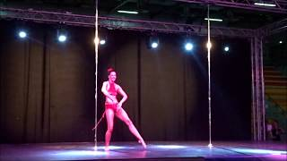 Sylvie Pont Competition FFD Pole Dance 2017
