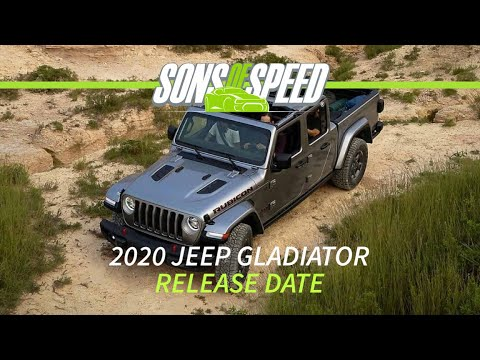 2020 Jeep Gladiator: Release Date and Everything You Wanted To Know | Sons of Speed