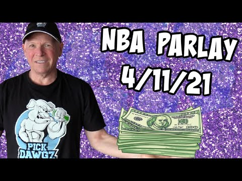 Free NBA Parlay Mitch's NBA Parlay for 4/11/21 NBA Pick and Prediction