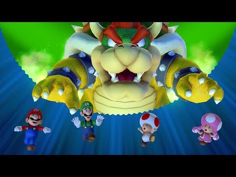 Mario Party 10 - Bowser Party - All Boards (Team Bowser)