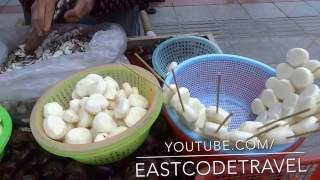Water Chestnut Peeling Technique  Chinese Street Food