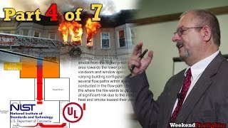 Part 4 of 7: (Case Studies) NIST & UL Research on Fire Behavior & Fireground Tactics