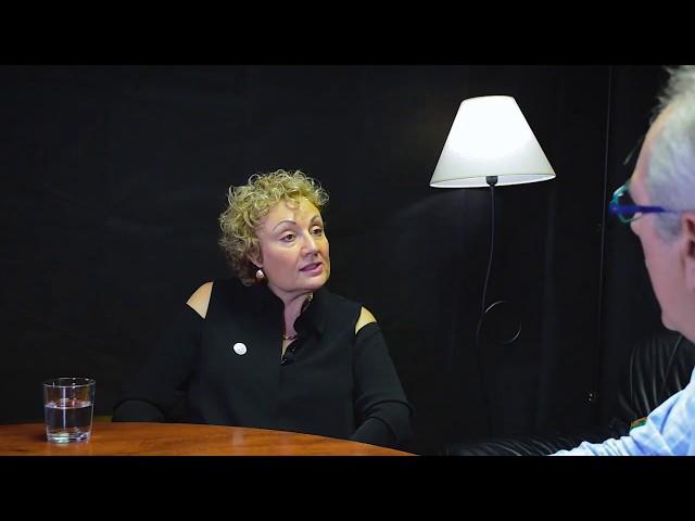 Mabel Katz entrevistada por Miguel Celades