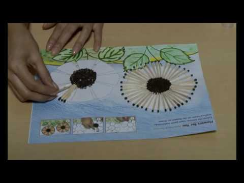 Art Matchstick Pasting Creative Diaries Youtube