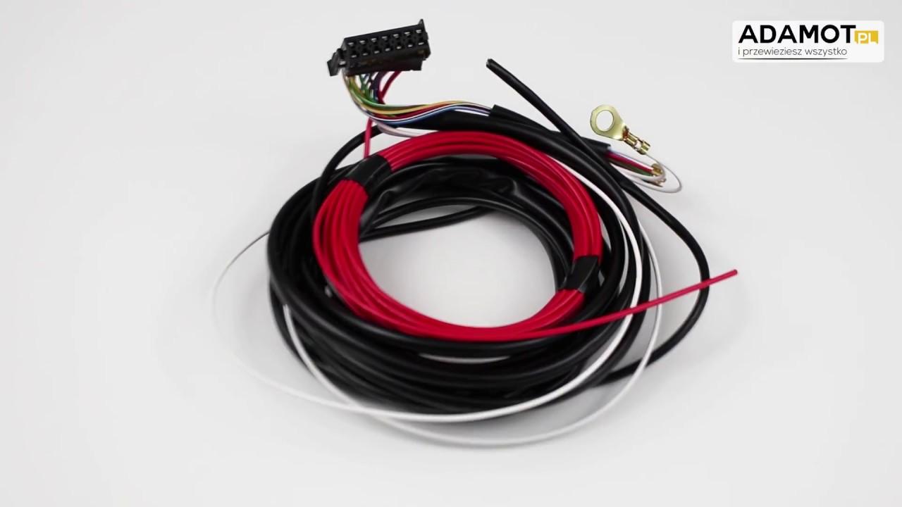 Inteligentny Wiązka elektryczna uniwersalna 7 PIN z modułem przyczepy STEINHOF YH63