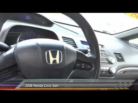 2008 Honda Civic Sdn Buena Park, Cerritos, Fullerton, La Habra, Anaheim  BU5915X