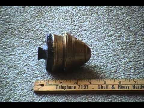 WW1 Dug Relic fuze Somme 18 lb Shell Vimy Field Gun Artilery  Battle Field find