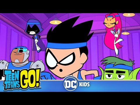 Teen Titans Go! | Sports Day | DC Kids