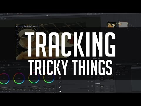 How To Track Tricky Things in Resolve 12