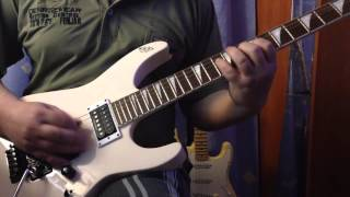 А.Алексин Трамвай guitar solo (cover)