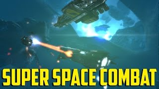 Angels Fall First - Super Space Combat!