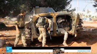معارك عنيفة تشعل كامل جبهات حلب واتهامات باستخدام غازات سامة