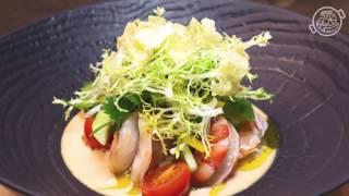 Papaella 6 F Салат с маринованными креветками