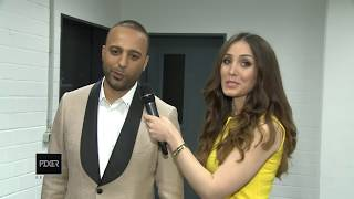Interview With Arash Oberhausen Norouz Concert 1394 , 2015 مصاحبه با آرش در کنسرت اوبرهاوزن